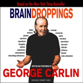 George Carlin - Brain Droppings  artwork