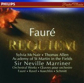 Academy of St. Martin in the Fields Chorus, Florent Schmitt, Sir Neville Marriner & Thomas Allen - Fauré: Requiem, Ravel: Pavane & Others  artwork