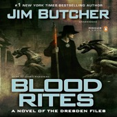 Jim Butcher - Blood Rites: The Dresden Files, Book 6 (Unabridged)  artwork