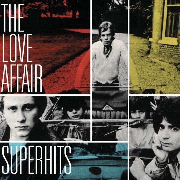 The Love Affair Superhits Album Cover By The Love Affair