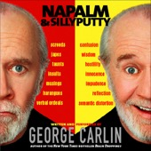 George Carlin - Napalm & Silly Putty  artwork