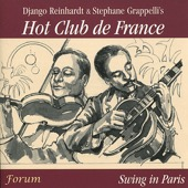 Django Reinhardt, Stéphane Grappelli & The Quintet of the Hot Club de France - Swing In Paris  artwork