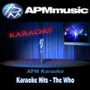 Karaoke Hits: The Who