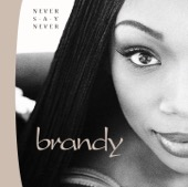 Brandy - Never Say Never  artwork