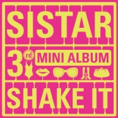 SISTAR - Shake It - EP  artwork