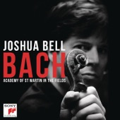Joshua Bell - Bach  artwork