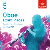 Selected Oboe Exam Pieces from 2014, ABRSM Grade 5
