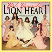 Girls' Generation - Lion Heart - The 5th Album  artwork