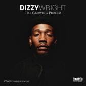 Dizzy Wright - The Growing Process  artwork