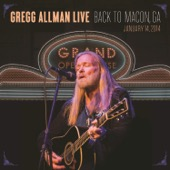 Gregg Allman - Gregg Allman Live: Back to Macon, GA  artwork