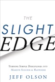 Jeff Olson - The Slight Edge  artwork