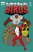 Jeff Parker, Ron Randall & Jeremy Colwell - Super Angry Birds #1  artwork