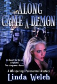 Linda Welch - Along Came a Demon (Whisperings Paranormal Mystery, #1)  artwork