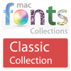 10 款經典 Mac 字體 MacFont-ClassicFonts   for Mac