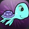 سلحفاة البحر الزرقاء - العاب الطفل السعيد