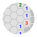 Crossoft Minesweeper Hexagon Lite