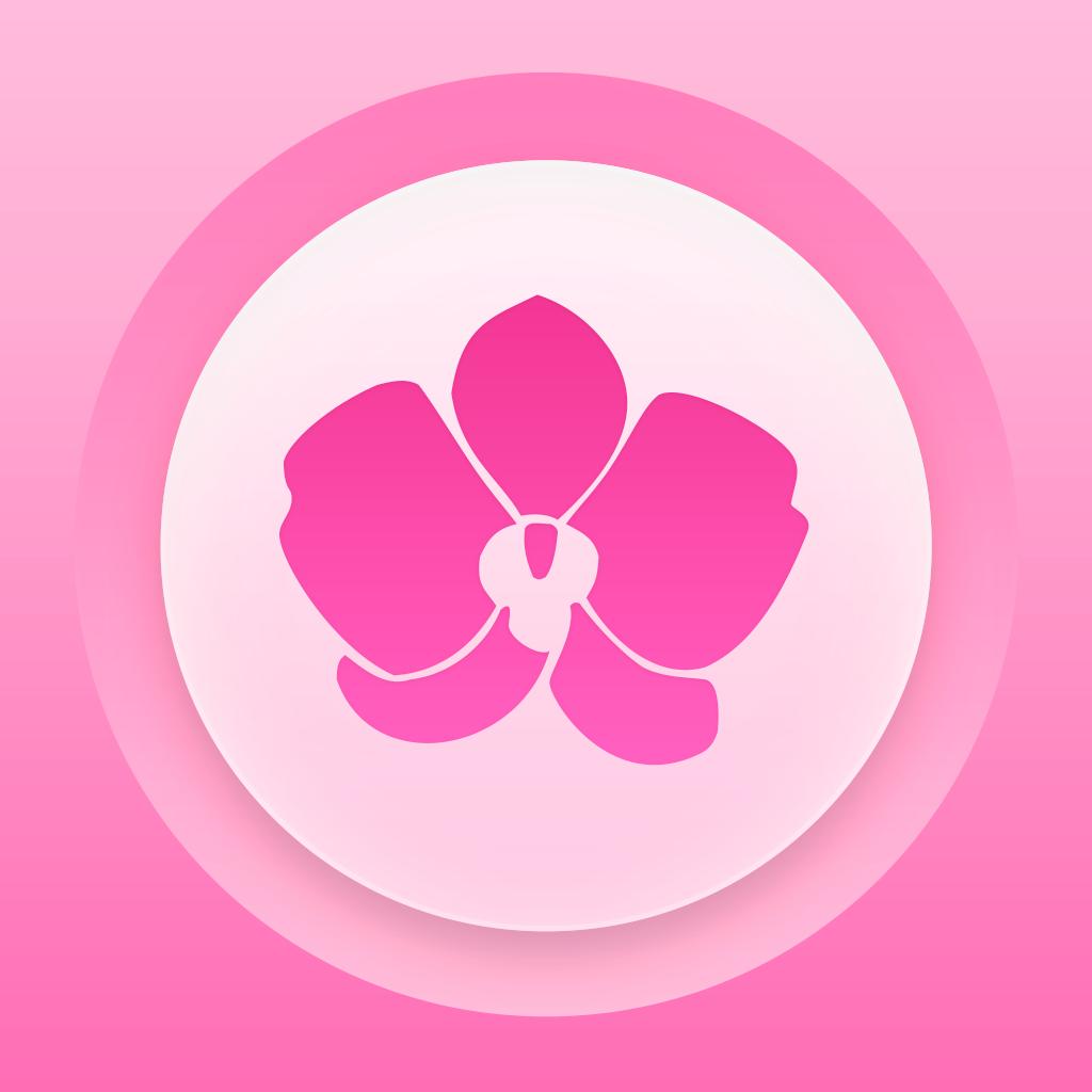 Pink Ovulation Calendar