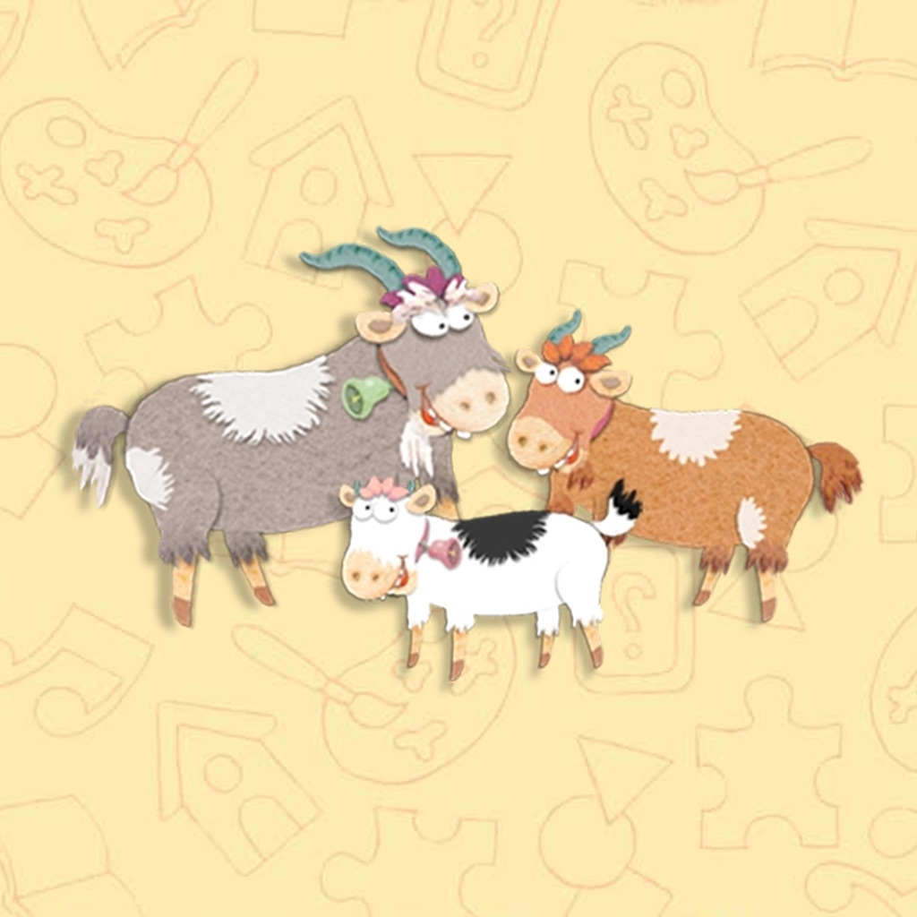 The Billy Goats Gruff Interactive