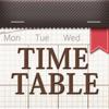 きせかえ時間割-かわいくお洒落な時間割表アプリ!手帳代わりに科目や先生、教室ごとに分類できて学校、塾の授業や試験のスケジュールも - Fineseed