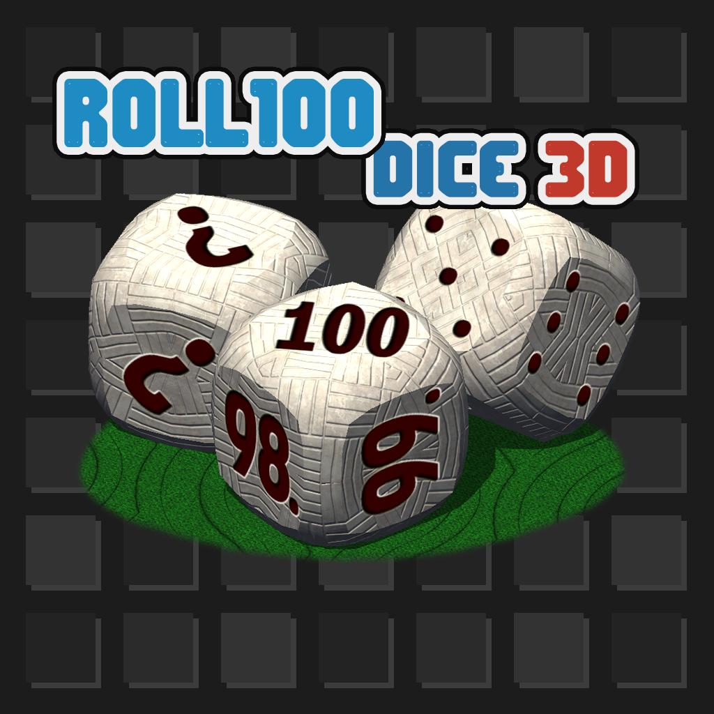 Roll100 Dice 3D