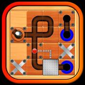 大理石的狂热球迷宫 — — 动作益智游戏 ;指南通过迷宫滚银球
