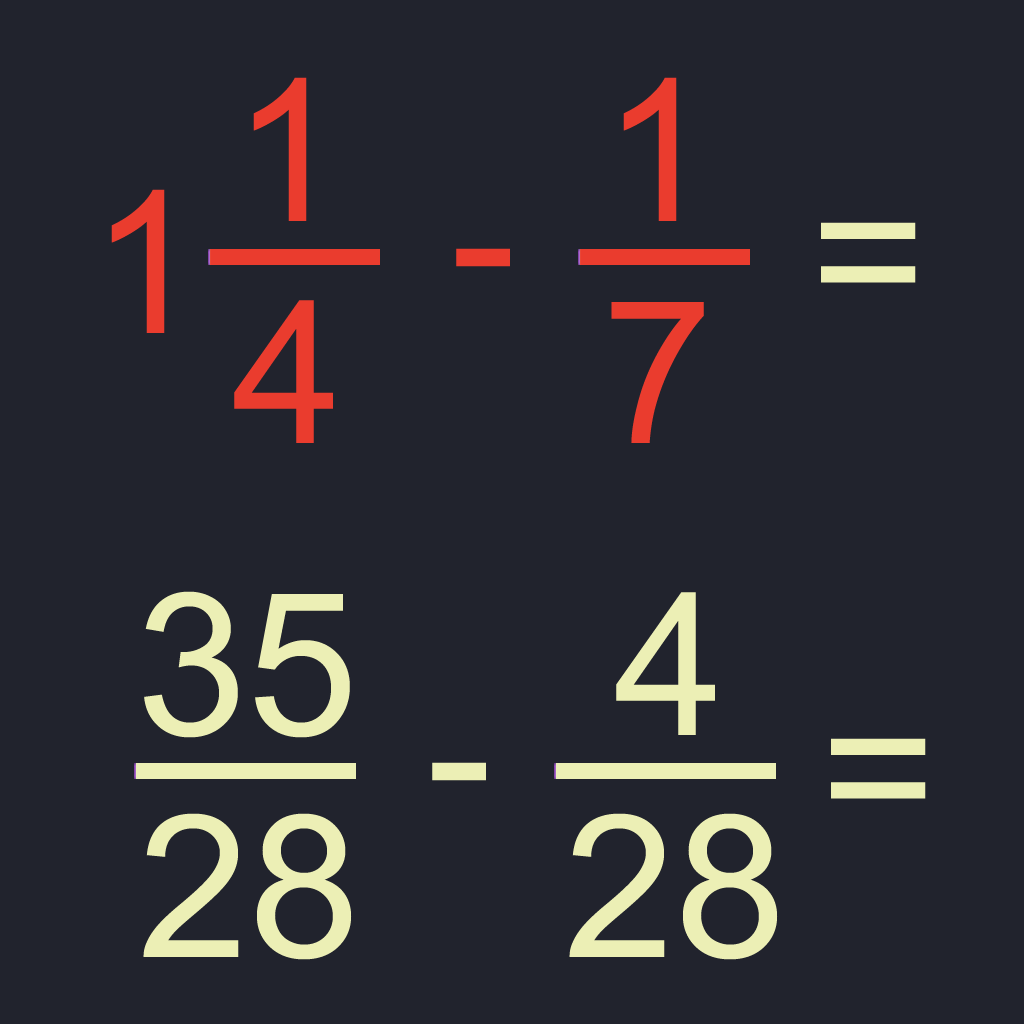 Fraction Math