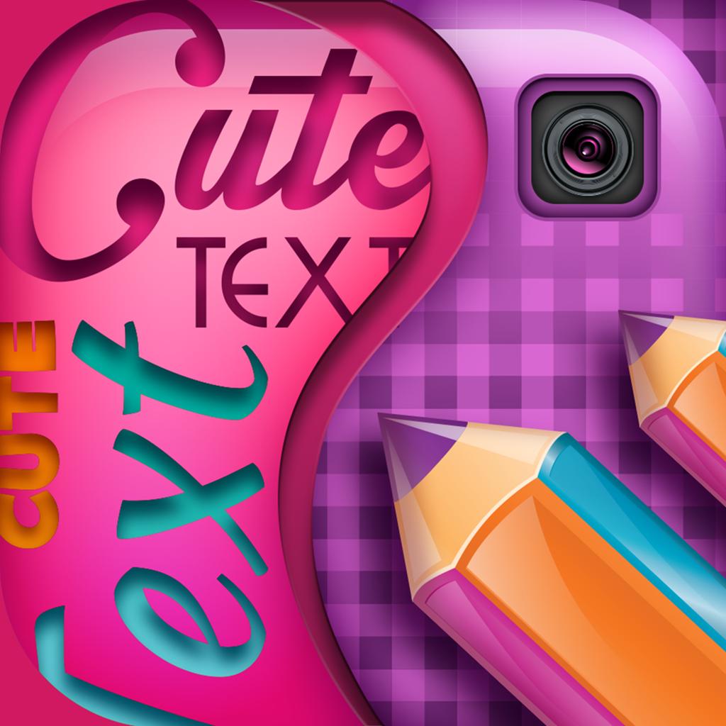 Texto em fotos app