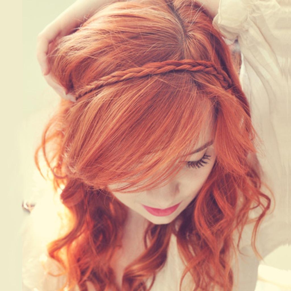 Фото красивых рыжих со спины 7 фотография