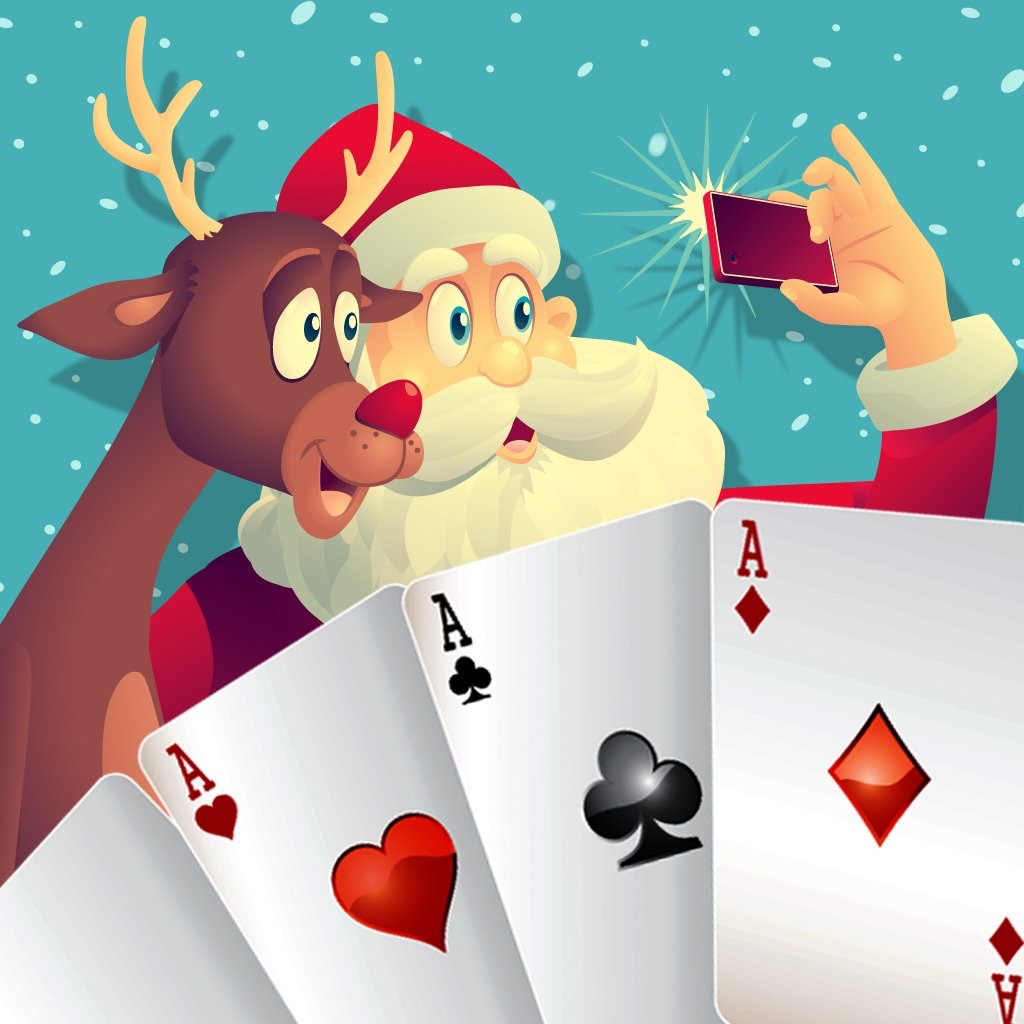 A Classic Christmas Solitaire Klondike Card Game For Free