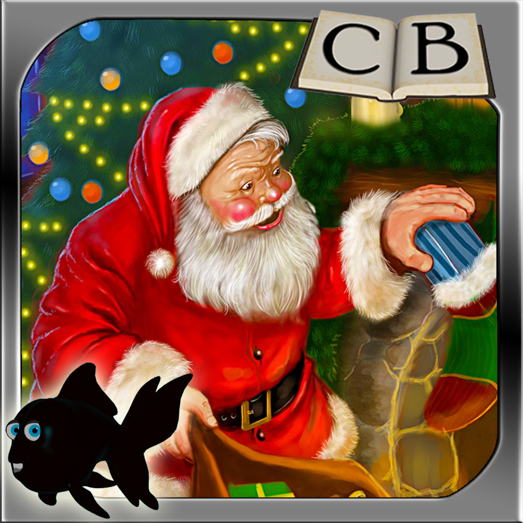 Twas The Night Before Christmas - A Blackfish (Bedtime Lite Apps Customizable Kids Free Interactive Stories HD) Children's Book