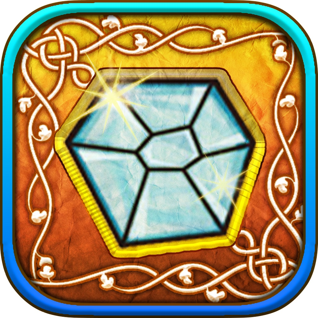 Doodle Diamonds - Complete Drawing