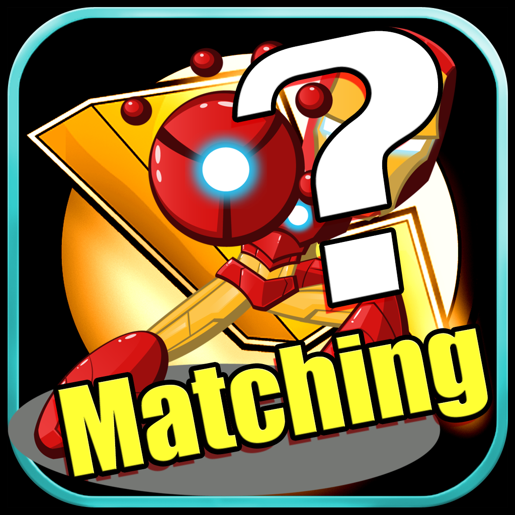 Matching Games Play For Iron Man Version