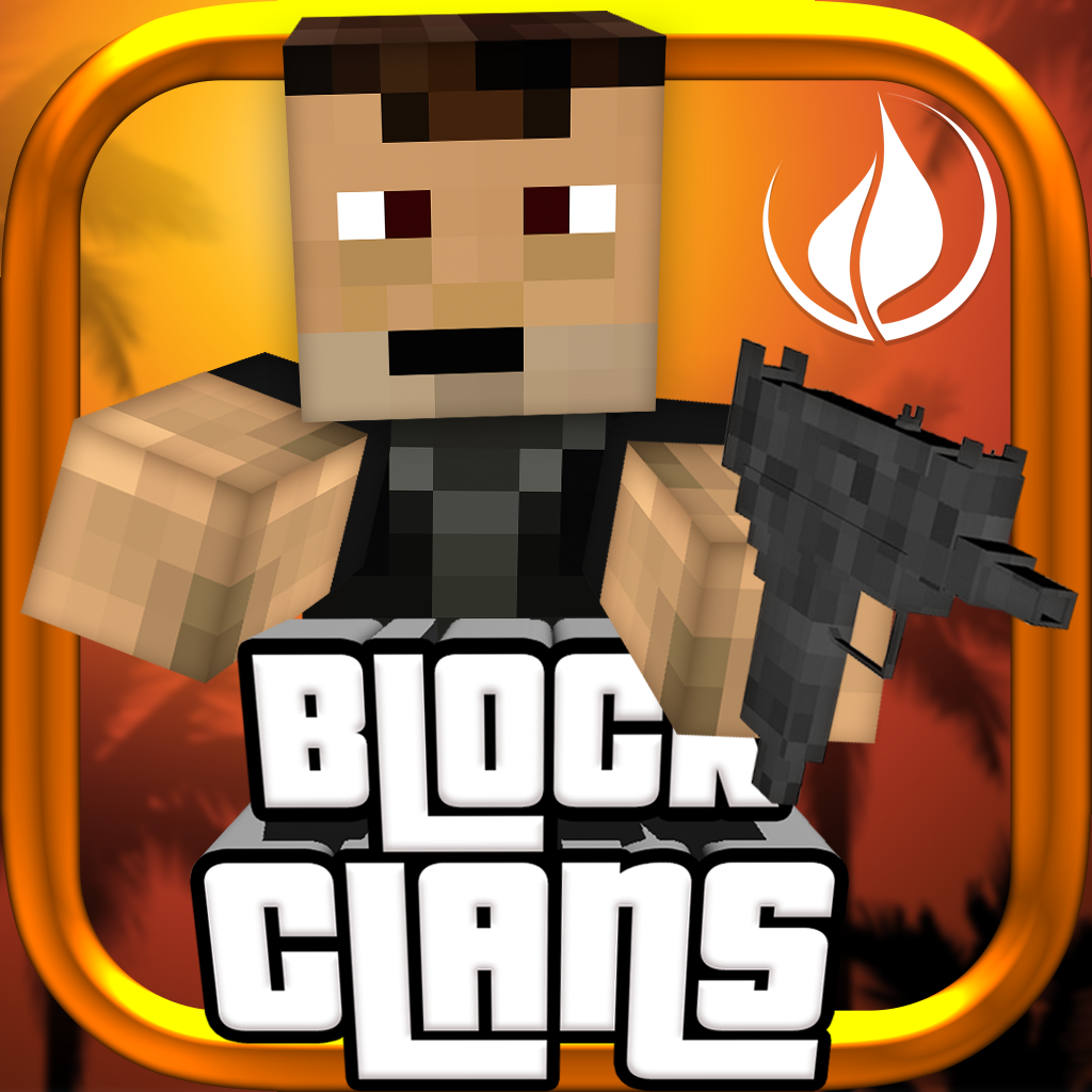 Block Clans - 3D Pixel Survival FPS & TPS Gun Shooter Pixel G...