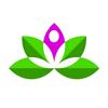 Modern Lotus - Yoga Studio artwork