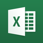 Microsoft Excel app for ipad