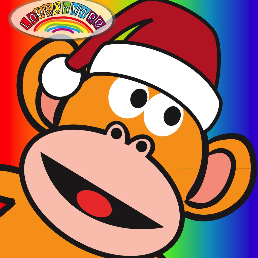 Five Little Monkeys Christmas HD