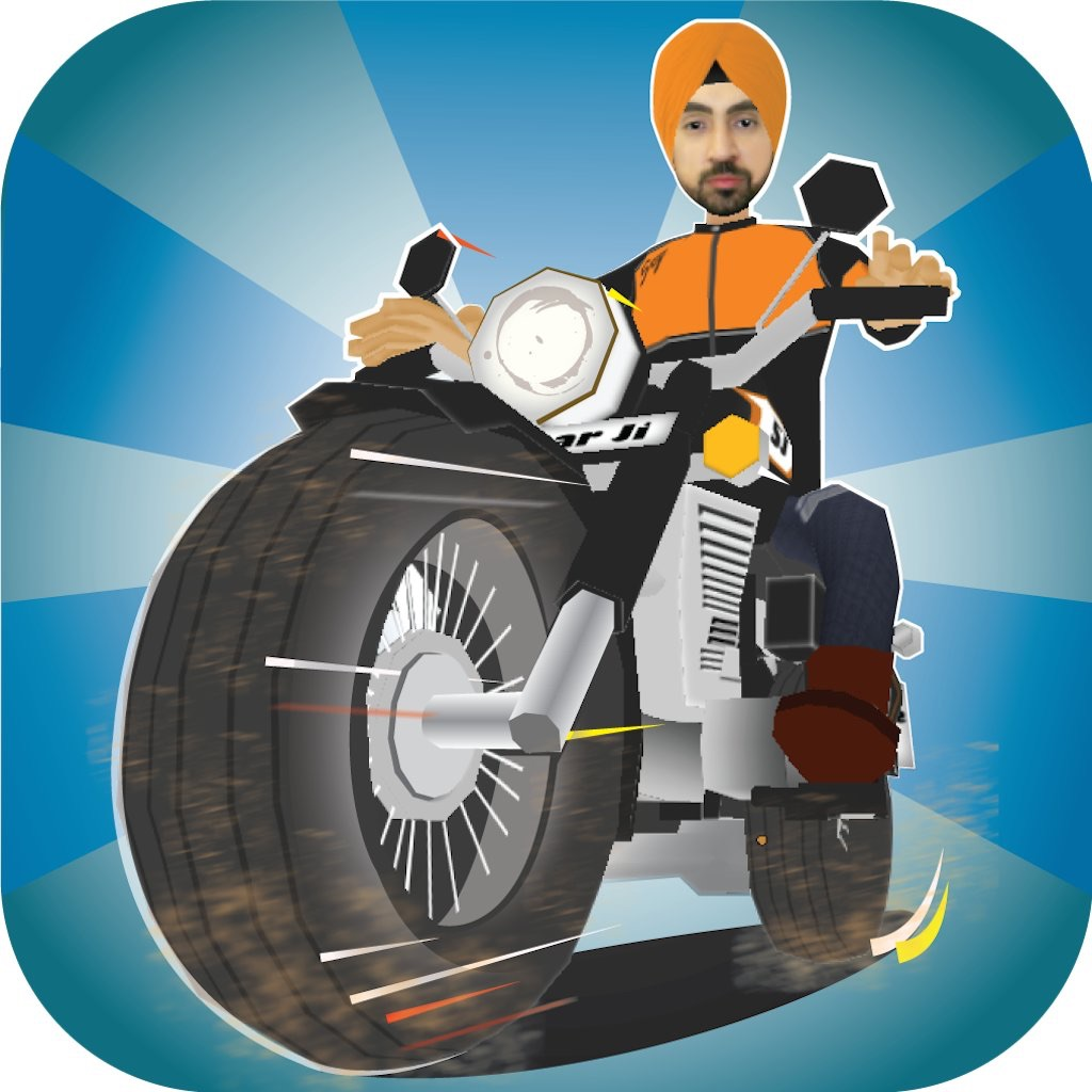 SardaarJi on Bullet
