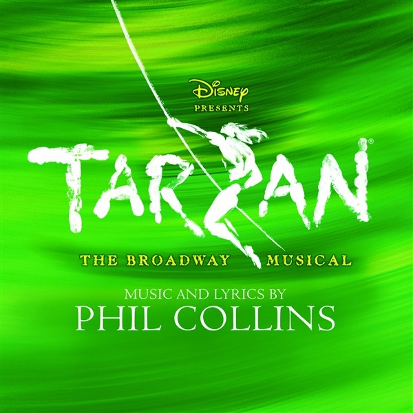 Tarzan The Broadway Musical Phil Collins CD cover