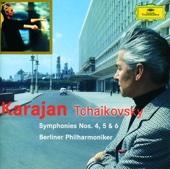 Tchaikovsky: Symphonies Nos. 4, 5 & 6 - Berlin Philharmonic & Herbert von Karajan Cover Art
