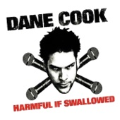 Cover to Dane Cook's Harmful If Swallowed