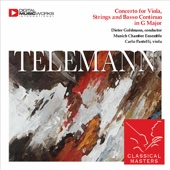 Concerto for Viola, Strings and Basso Continuo In G Major: III Andante