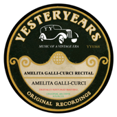 Amelita Galli-Curci Recital