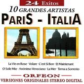 24 Exitos - 10 Grandes Artistas Paris - Italia