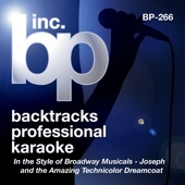 Karaoke: In the Style of Broadway Musicals (Songs from Joseph and the Amazing Technicolor Dreamcoat)