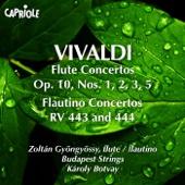 Vivaldi, A.: Flute Concertos, Op. 10, Nos. 1, 2, 3, 5 - Flautino Concertos, Rv 443, 444