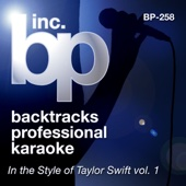 Love Story (Instrumental Track) [Karaoke In the Style of Taylor Swift]