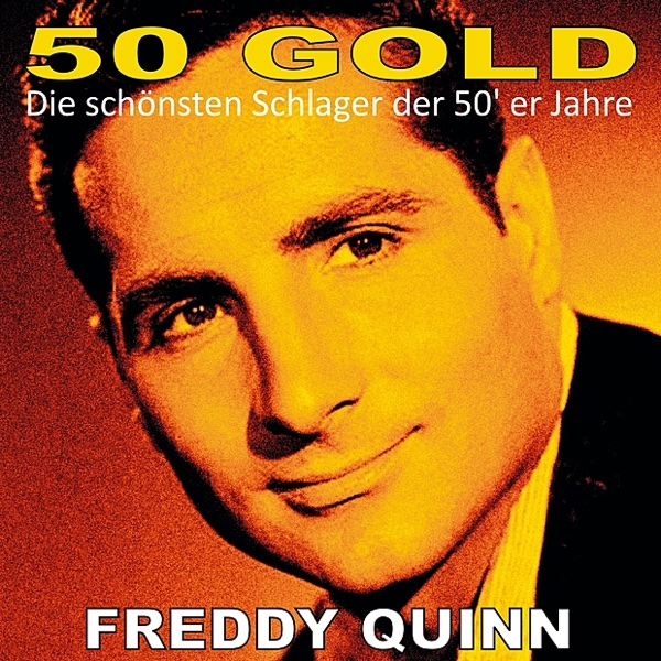 freddy quinn 50 39 s gold album cover by freddy quinn. Black Bedroom Furniture Sets. Home Design Ideas