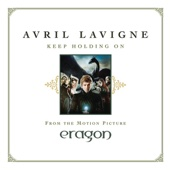 """Keep Holding On (From """"Eragon"""") - Single cover art"""