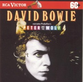 David Bowie Narrates Prokofiev's Peter and the Wolf cover art