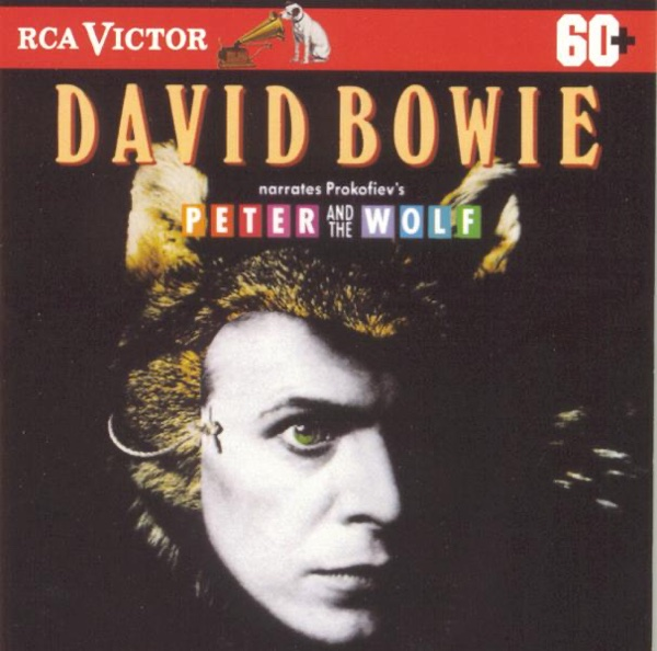 David Bowie Narrates Prokofievs Peter and the Wolf Pyotr Ilyich Tchaikovsky CD cover